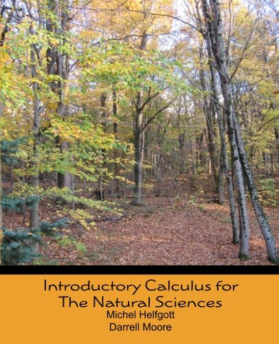 9781453880838: Introductory Calculus for the Natural Sciences