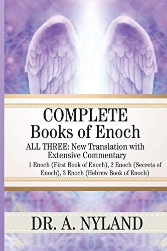 9781453890295: Complete Books of Enoch: 1 Enoch (First Book of Enoch), 2 Enoch (Secrets of Enoch), 3 Enoch (Hebrew Book of Enoch)