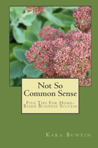 9781453891278: Not So Common Sense: Five Tips For Home-Based Business Success