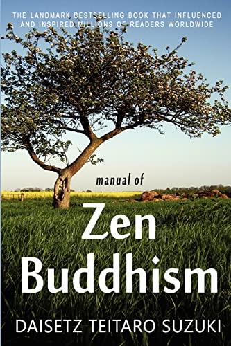 9781453894682: Manual of Zen Buddhism
