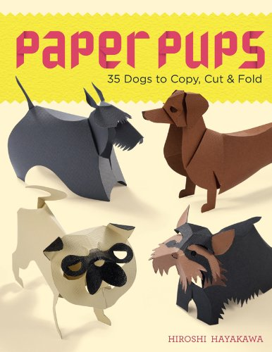9781454703921: Paper Pups: 35 Dogs to Copy, Cut & Fold
