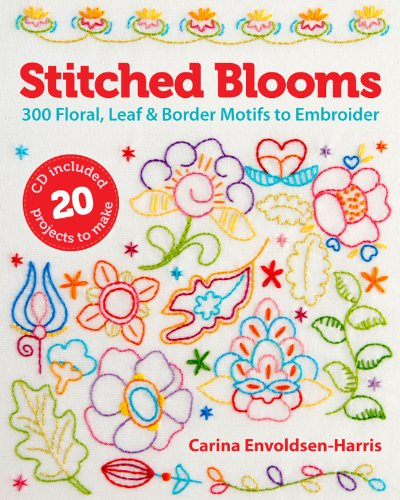 9781454704256: Stitched Blooms
