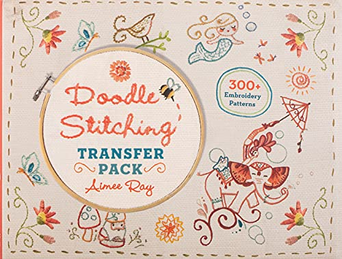 9781454709022: Doodle Stitching Transfer Pack
