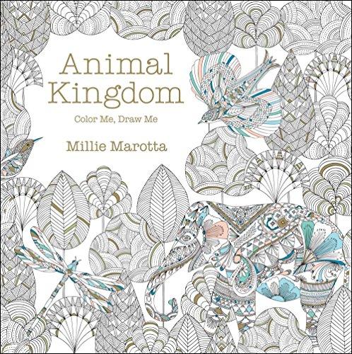 Animal Kingdom Color Me Draw A Marotta Millie