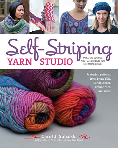 9781454709367: Self-Striping Yarn Studio: Sweaters, Scarves, and Hats Designed for Self-Striping Yarn