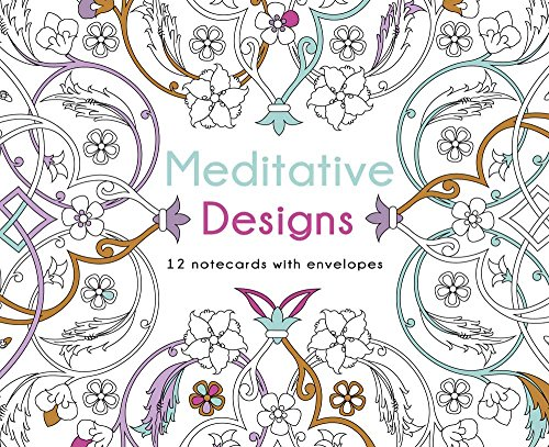 9781454709473: Meditative Designs: 12 Note Cards with Envelopes