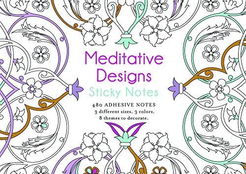 Meditative Designs Sticky Notes: Lark Crafts