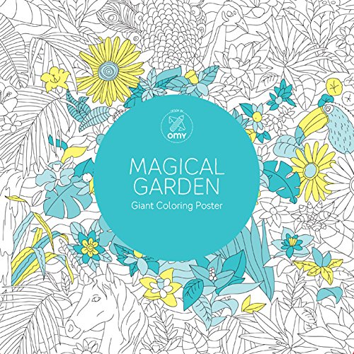 9781454709749: Magical Garden: Giant Coloring Poster