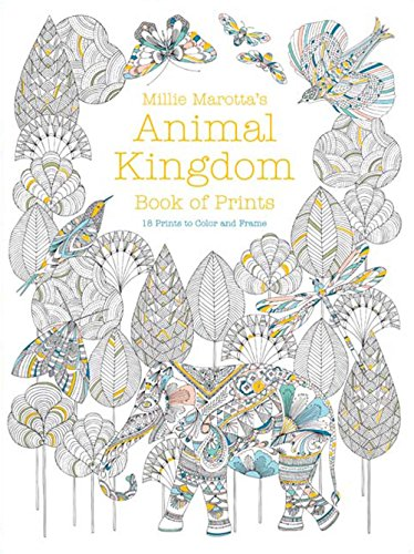 Millie Marotta's Animal Kingdom Book of Prints: Marotta, Millie
