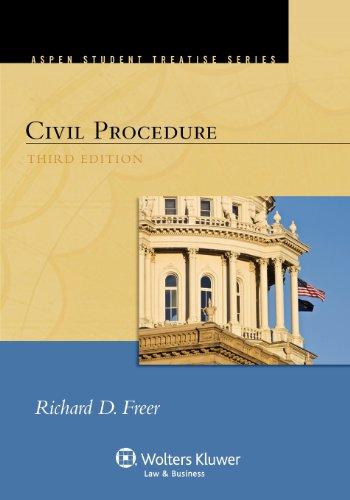 9781454802228: Civil Procedure, Third Edition (Aspen Student Treatise) (Aspen Student Treatise Series)