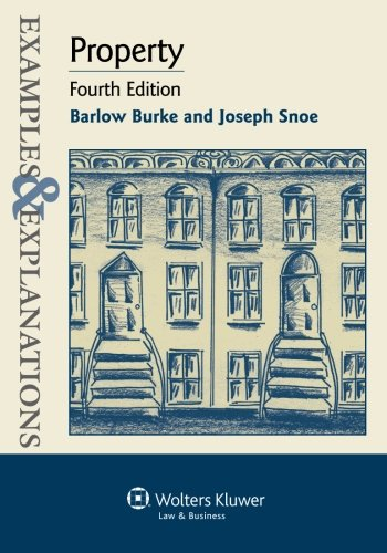 9781454802297: Examples & Explanations: Property, Fourth Edition
