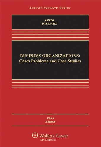 9781454802686: Business Organizations: Cases, Problems, and Case Studies, Third Edition (Aspen Casebook)