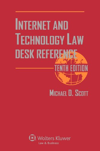 9781454807186: Internet & Technology Law Desk Reference, Tenth Edition