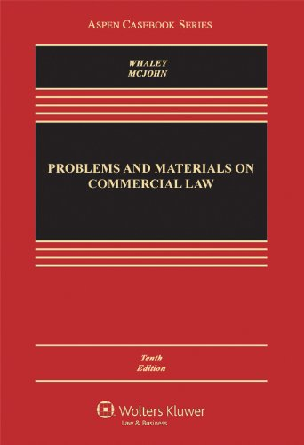 9781454807193: Problems and Materials on Commercial Law, Tenth Edition (Aspen Casebook)