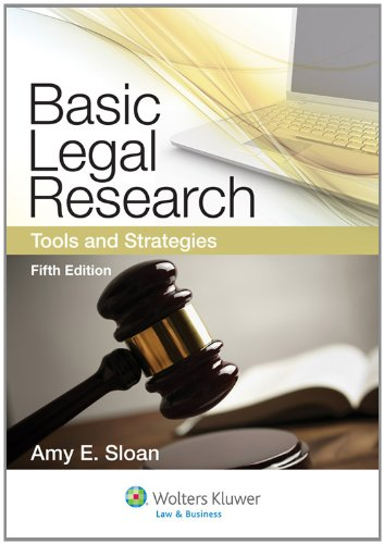 9781454808473: Basic Legal Research: Tools and Strategies, Fifth Edition (Aspen Coursebook)