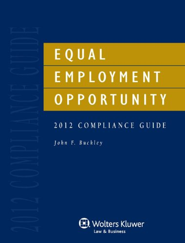 9781454808480: Equal Employment Opportunity Compliance Guide 2012 Edition with CD