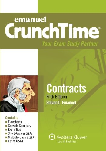 9781454809180: CrunchTime: Contracts, Fifth Edition