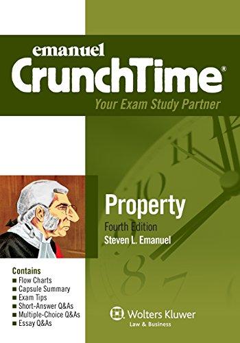 9781454809197: CrunchTime: Property (Emanuel Crunchtime)