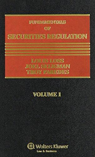 9781454810162: Fundamentals of Securities Regulation Volume 1 (volume 1)