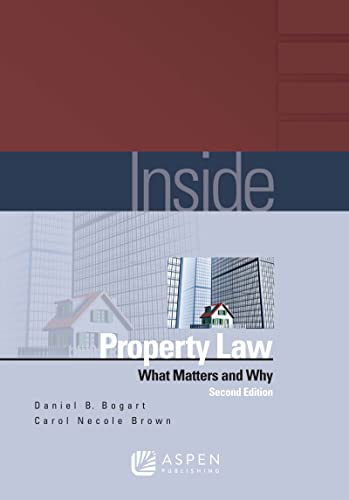 9781454810964: Inside Property Law: What Matters & Why, 2nd Edition