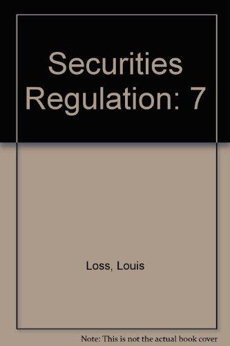 9781454811268: Securities Regulation