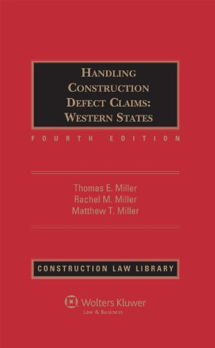 9781454811695: Handling Construction Defect Claim Western States, Fourth Edition