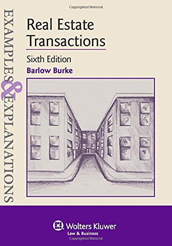 9781454816096: Examples & Explanations: Real Estate Transactions