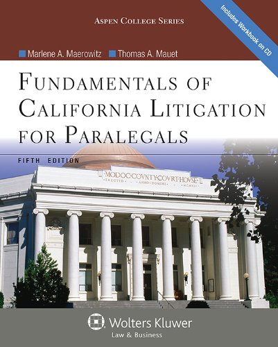 9781454816546: Fundamentals of California Litigation for Paralegals, Fifth Edition (Aspen College)