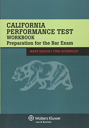 California Performance Test Workbook: Preparation for the: Basick, Mary; Schindler,