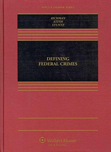 9781454819899: Federal Criminal Law