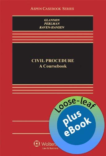 9781454822134: Civil Procedure: A Coursebook (Loose-leaf version)