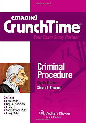 9781454824886: CrunchTime: Criminal Procedure, Eighth Edition