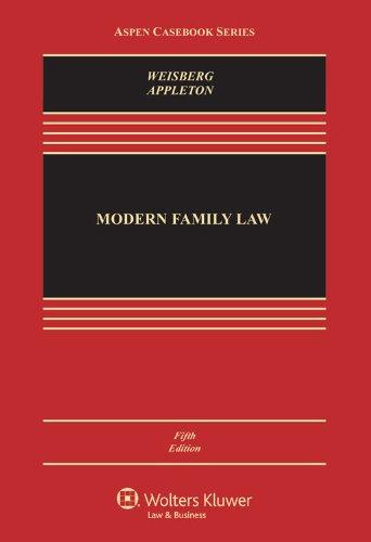 9781454825111: Modern Family Law, Fifth Edition (Aspen Casebook)