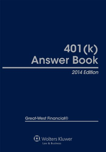 9781454825258: 401(k) Answer Book, 2014 Edition