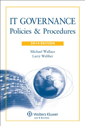 9781454825609: IT Governance: Policies & Procedures, 2014 Edition with CD