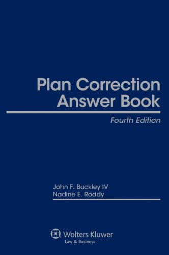 9781454825685: Plan Correction Answer Book, Fourth Edition
