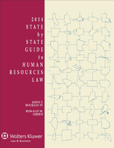 9781454825784: State By State Guide To Human Resources Law, 2014 Edition
