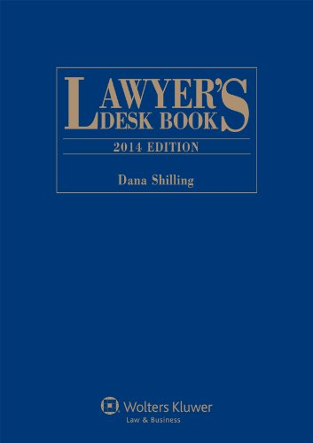 9781454826576: Lawyers Desk Book, 2014 Edition