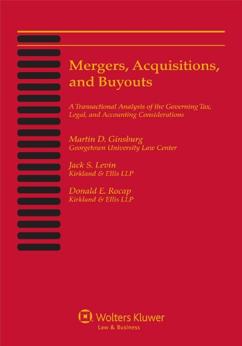 9781454827214: Mergers, Acquisitions, and Buyouts, February 2013: Five-Volume Print Set