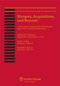 9781454827283: Mergers, Acquisitions, and Buyouts, February 2013