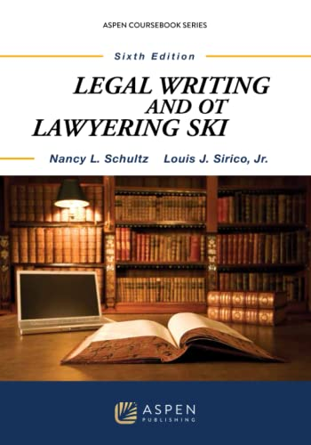 9781454831020: Legal Writing & Other Lawyering Skills, Sixth Edition (Aspen Coursebook)