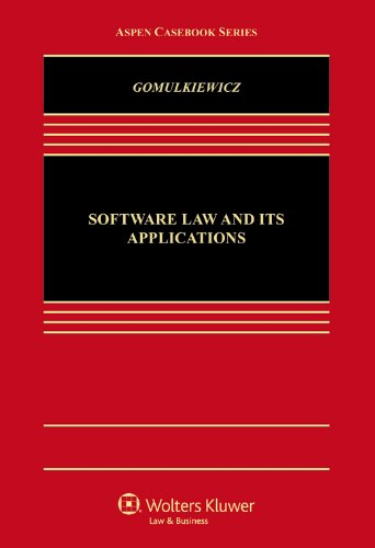 9781454835998: Software Law and Its Applications (Aspen Casebook)