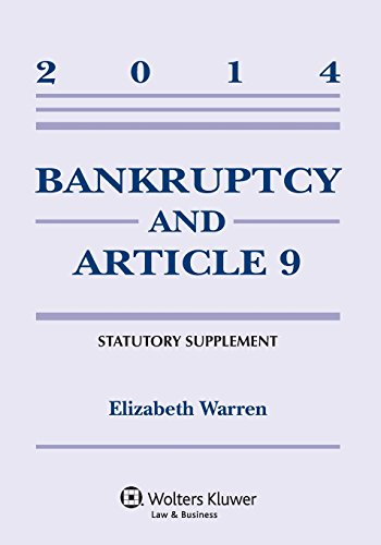 9781454840527: Bankruptcy & Article 9 Statutory Supplement