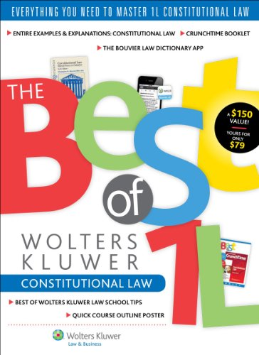 9781454841043: The Best of Wolters Kluwer 1L: Constitutional Law