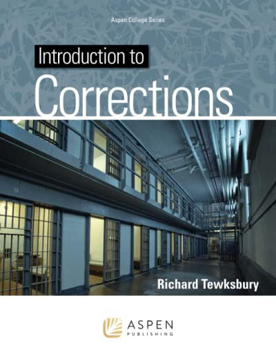 9781454841265: Introduction To Corrections (Aspen College)