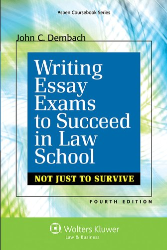 law school exam essay writing