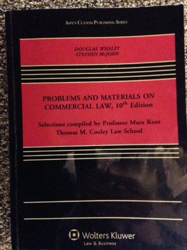 9781454841913: Problems and Materials on Commercial Law, 10th Edition