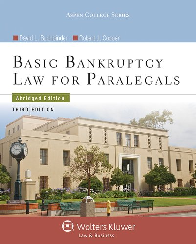 9781454842019: Basic Bankruptcy Law for Paralegals, Third Edition