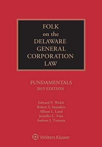 9781454844105: Folk on the Delaware General Corporation Law: Fundamentals