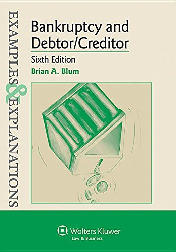 9781454845379: Examples & Explanations: Bankruptcy and Debtor Creditor, Sixth Edition
